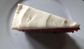 Red Velvet Cake (reduced sugar and fat)