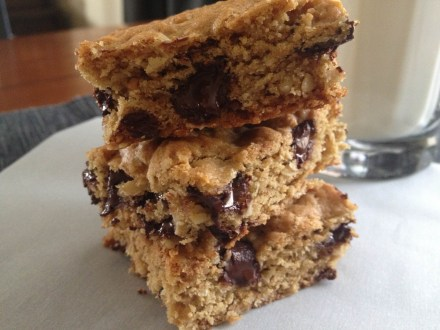 peanut butter oats bars