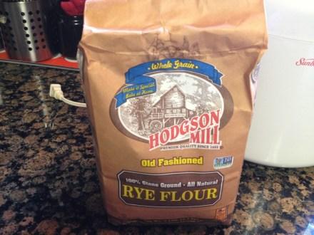 Rye flour