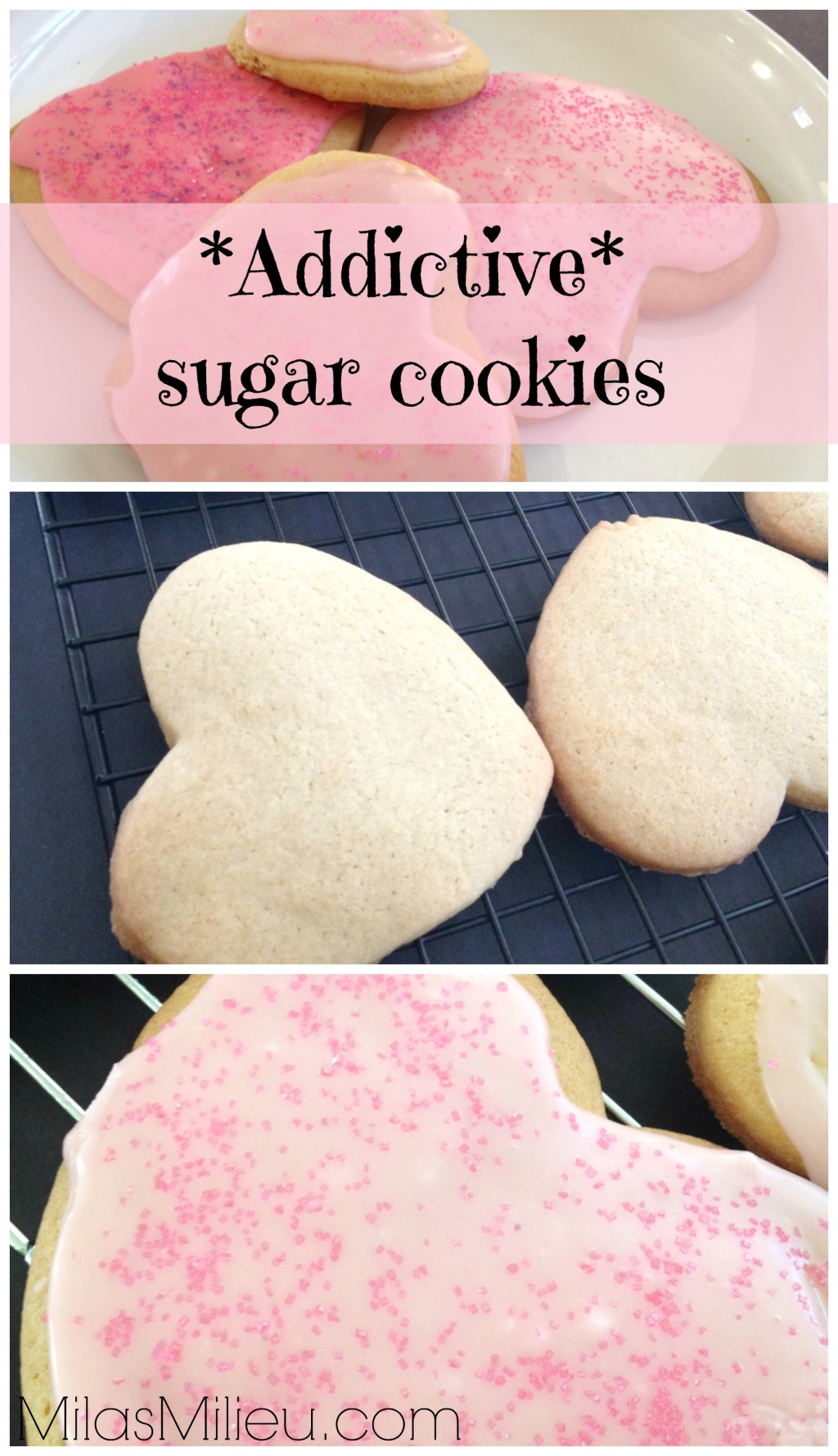 Classic roll-out sugar cookies via milasmilieu.com