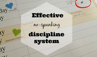 "Effective no-spanking discipline system: ""3W""s"