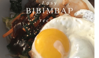 Easy bibimbap recipe, customizable and kid-friendly.