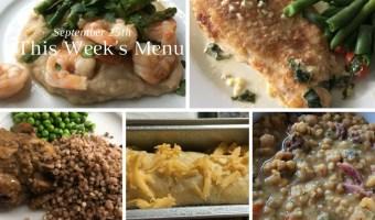 September weekly menu