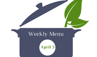 Weekly Menu | April 3