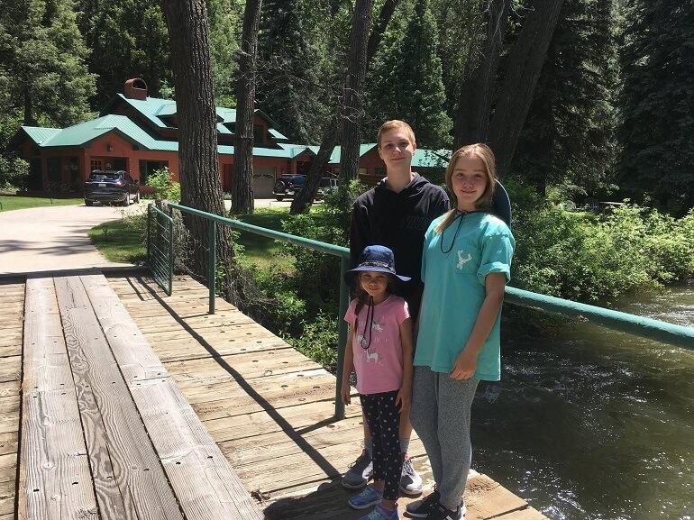 Durango cabin fishing