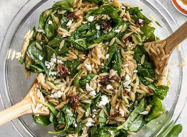 Spinach-and-Orzo-Salad