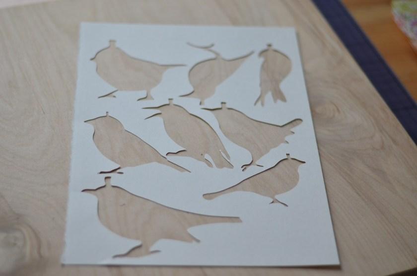 160117 vogelgirlande in arbeit
