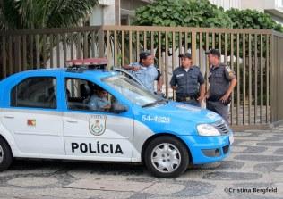 Ipanema Polizei
