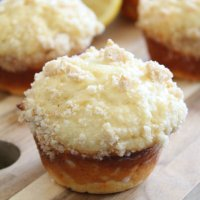 Bakery Style Lemon Crumb Muffins
