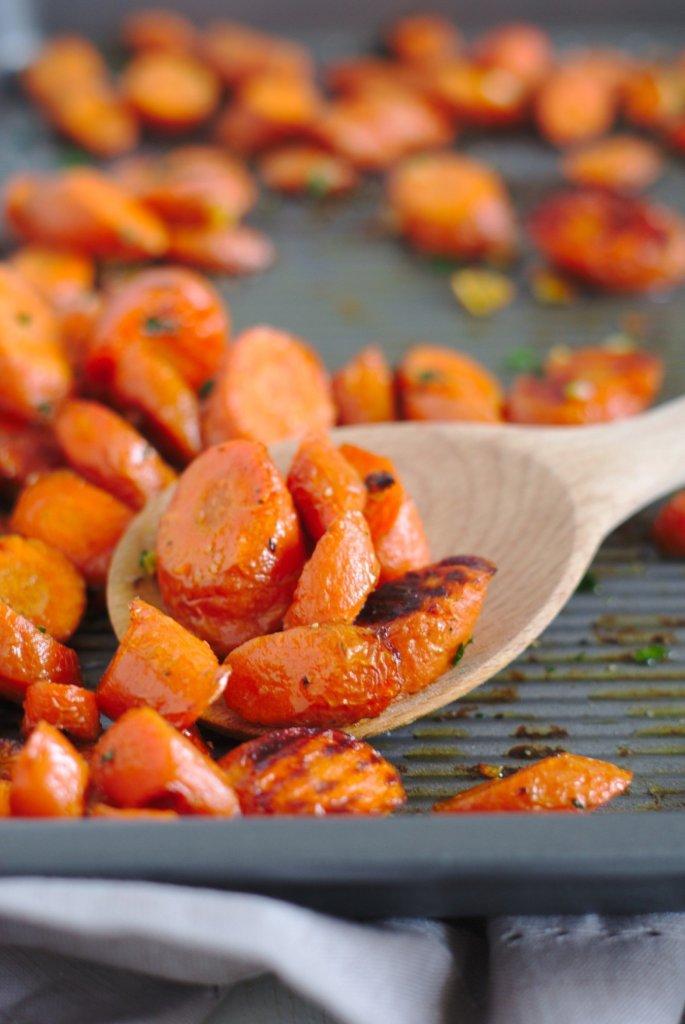 Garlic Butter Carrots