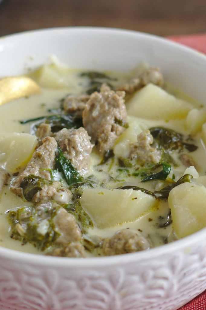 Zuppa Toscana Soup Crockpot