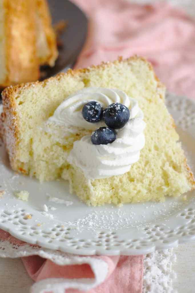 Vanilla Chiffon Cake Recipe