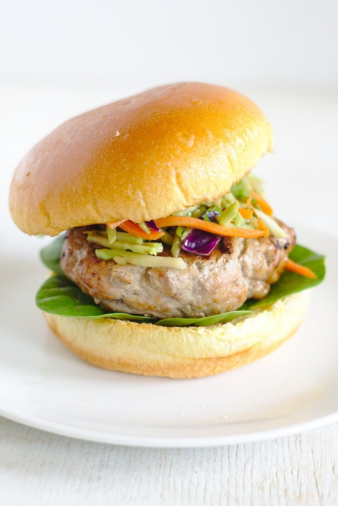 Asian Pork Burgers