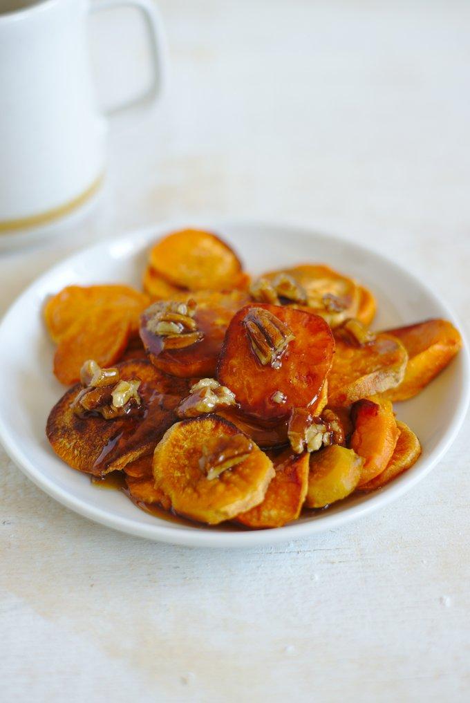 Melting Sweet Potatoes