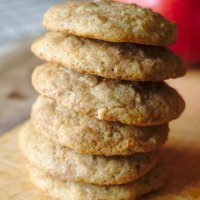 Apple Snickerdoodle Cookies