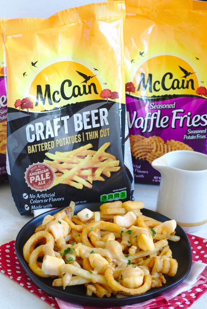 Easy Canadian Poutine