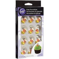 Wilton 710-0131 Halloween Royal Icing Decorations with Candy Corn