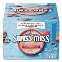 Milk Chocolate Swiss Miss Hot Cocoa Mix 0.73 Ounces Envelopes 60 Count
