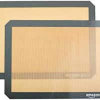 AmazonBasics Silicone Baking Mat Sheet, Set of 2