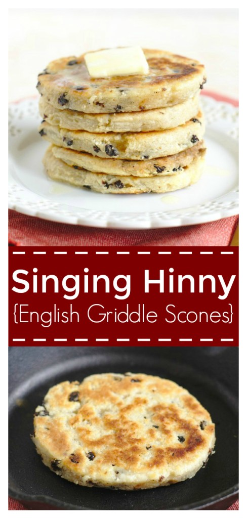 English Singing Hinnies (Griddle Scones) - A delicious breakfast treat! A scone-like dough grilled on a skillet until golden brown and crispy. Singing Hinny Recipe | British Breakfast Recipe | British Recipe #british #breakfast #recipe #easyrecipe