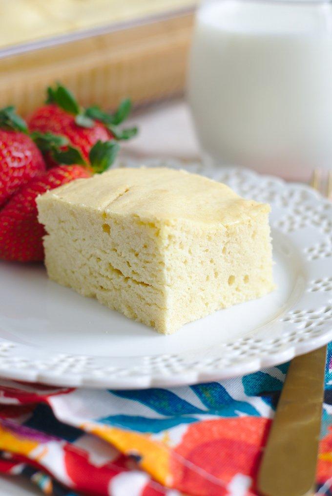 Milk Cake Recipe
