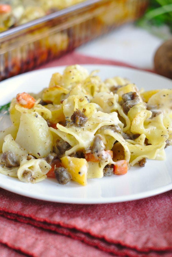 Pasty Casserole