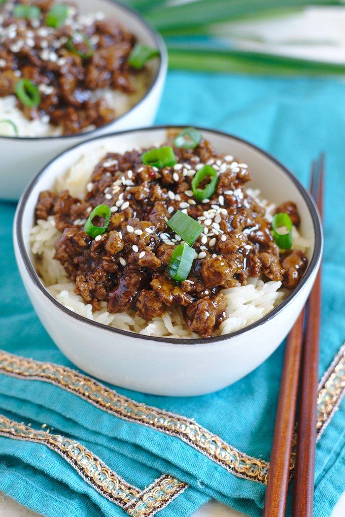 Korean Beef Fried Rice