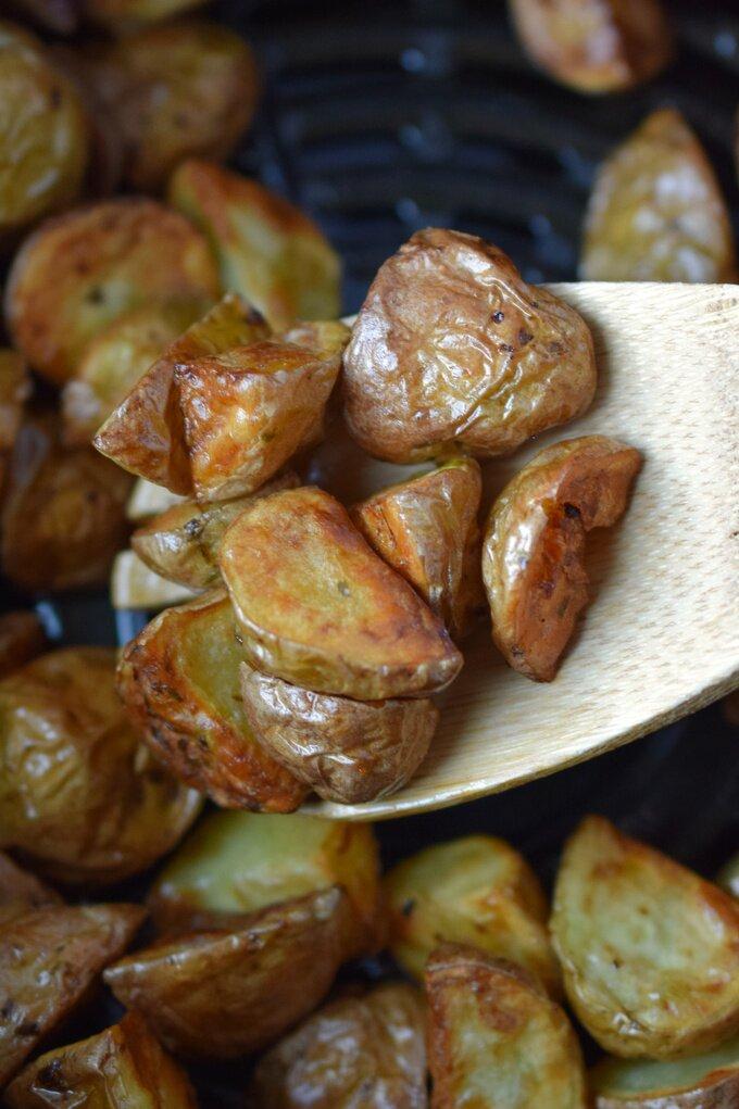 Diced Air Fryer Potatoes