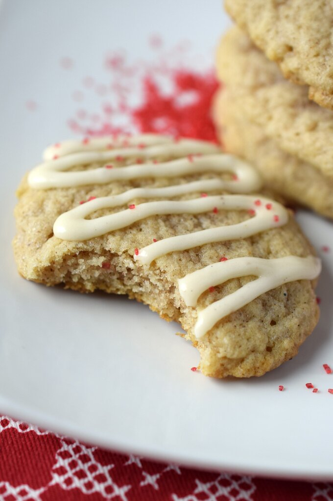 Homemade Eggnog Cookies