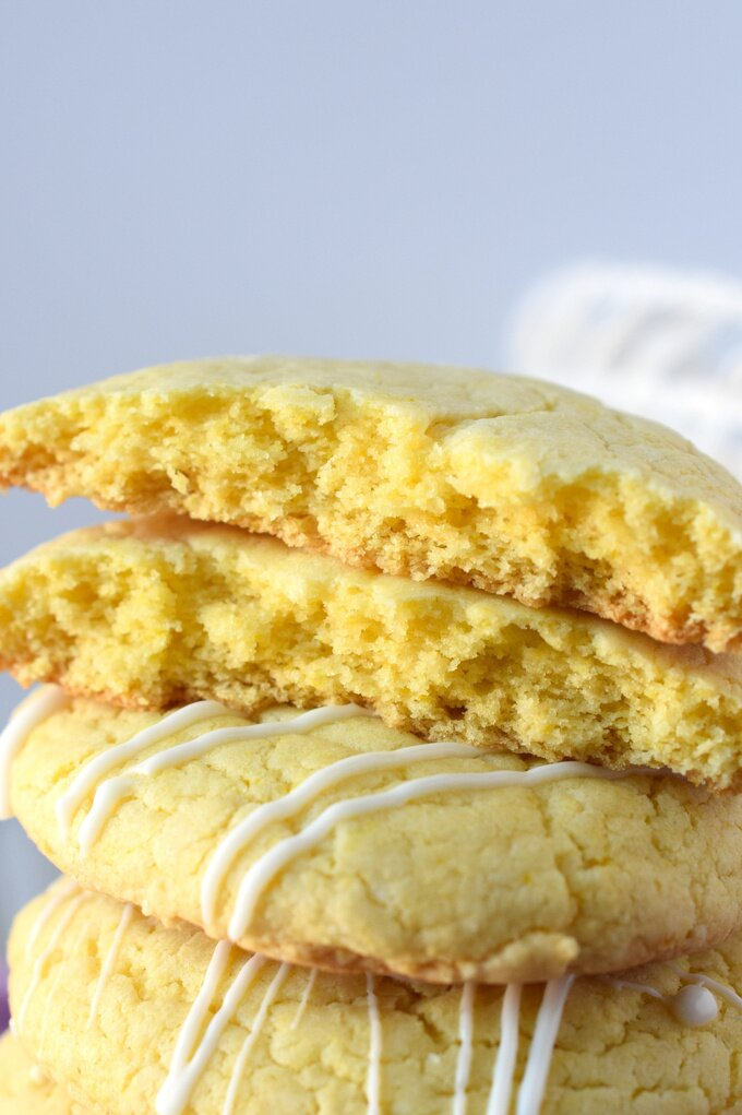 Lemon Cake Mix Cookies Recipe