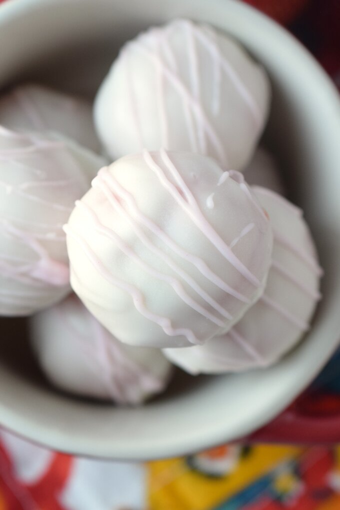 Strawberry Truffles