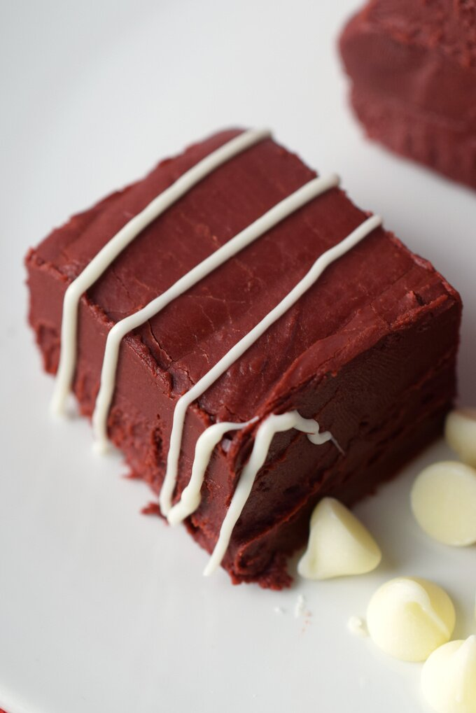 Red Velvet Fudge