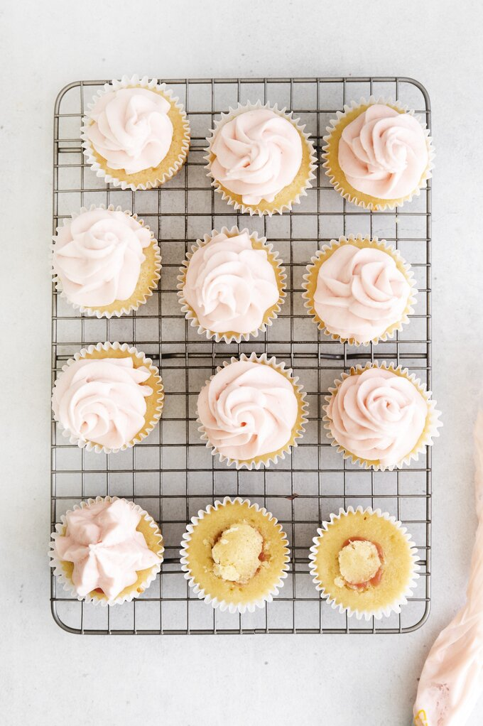 Rhubarb Cupcakes Recipe