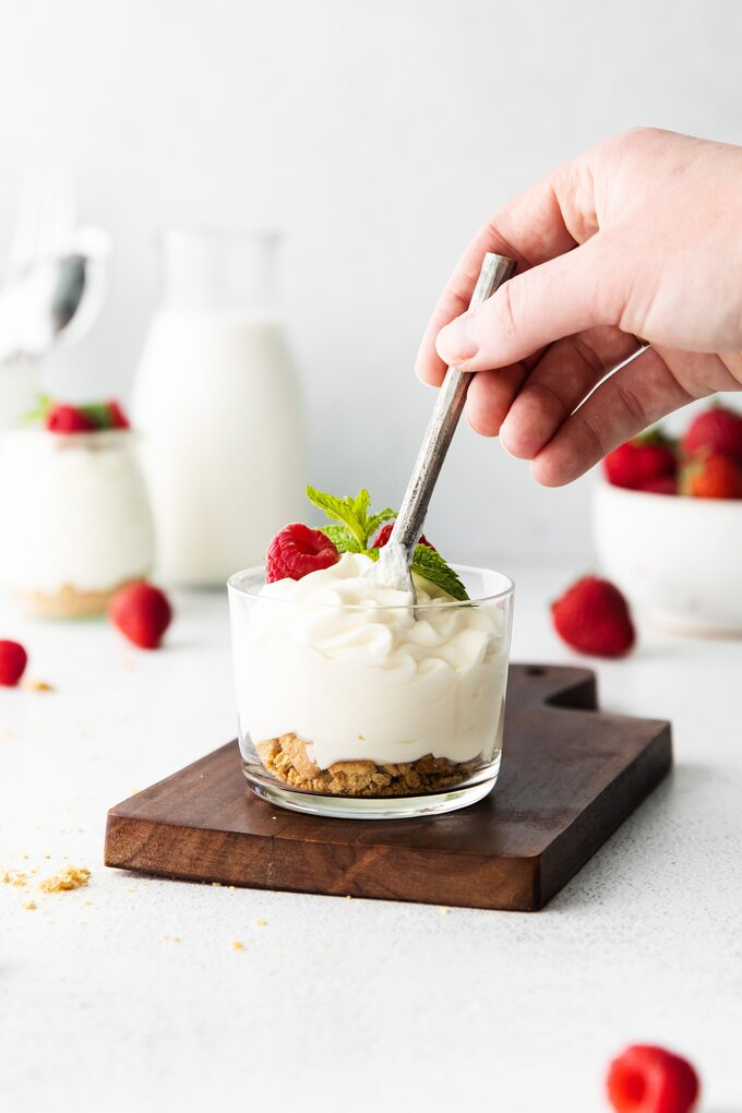 Homemade Cheesecake Mousse