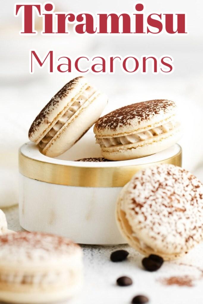Tiramisu Macarons