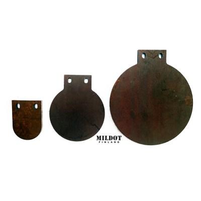 Metallimaalitaulu 10cm – 12mm – MILDOT