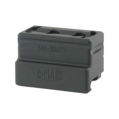 Spuhr SM-3002B Red Dot Mount 42mm/1.65″ Mro Mount Lower 1/3