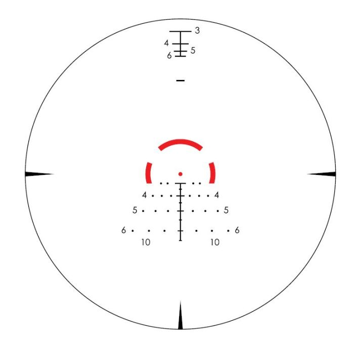 Vortex Strike Eagle reticle