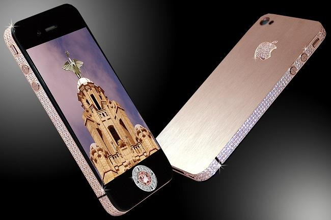 Diamond Rose iPhone 4