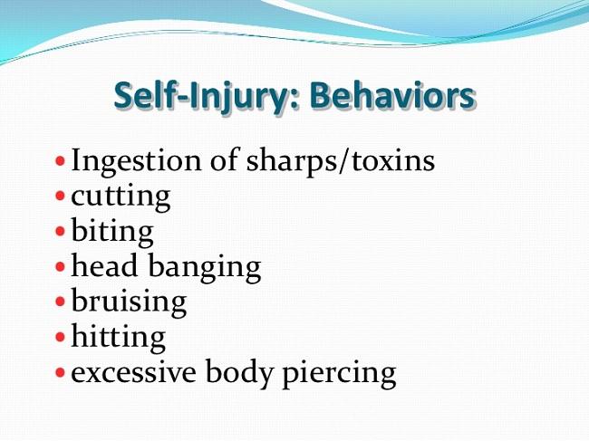 Self-harming