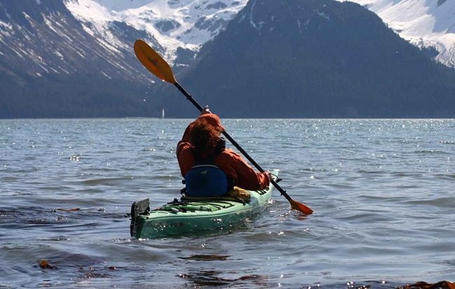 A kayaker's discovery