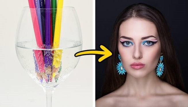 For alternative eyeliner