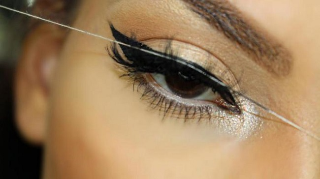 For the perfect winged eyeliner