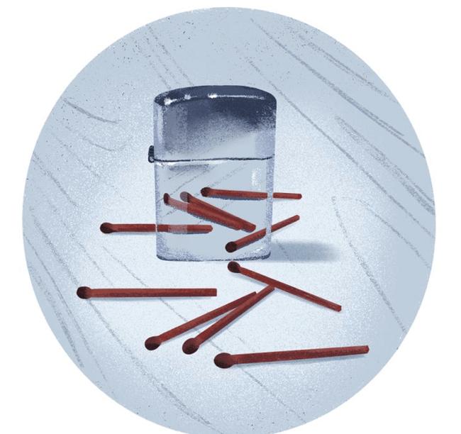 How many match sticks