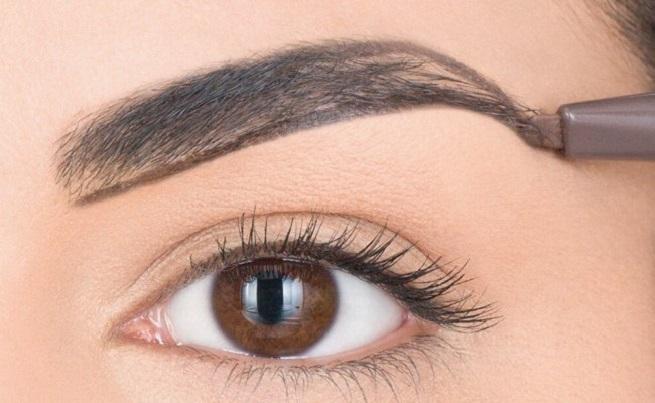 Ideal eyebrows