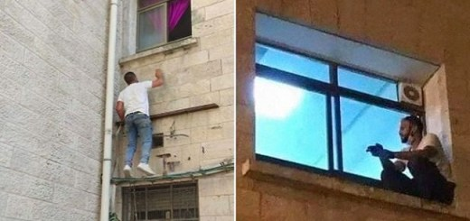 Son Climbs Hospital Building To Watch Over His Sick Mother Through The Window