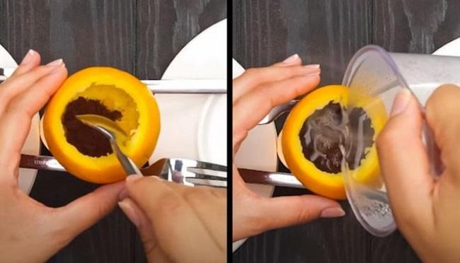 how to make some orange coffee