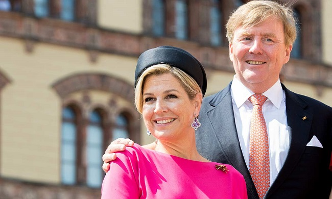 King Willem-Alexander and wife