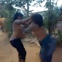 VIDEOS...ELDERLY WOMEN AND YOUNG GIRLS HALF-NAKED FIGHTING OVER MEN...FOR WHAT?...ADULTS ONLY