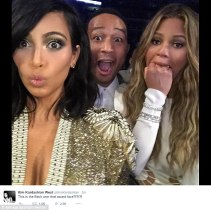 KANYE'S DRAMA AT GRAMMYS AND KIM KARDASHIAN'S SHOCKED EXPRESSION